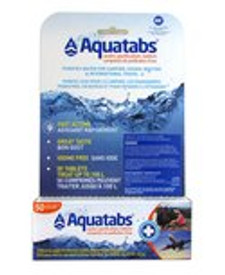 Card Health Cares Aquatabs Water Purification Tablets | 872798004900