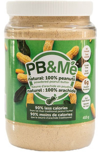 PB&Me Powdered Peanut Butter Natural 453 grams