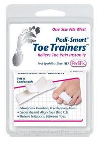 Card Health Cares PediFix Toe Trainer Splints 2 Count | 092437735334