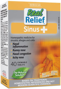 Homeocan Real Relief Sinus+ 40 Chewable Tablets   778159950407