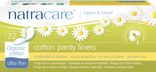 Natracare Organic Cotton Panty Liners Ultra Thin- 22ct | 782126003096