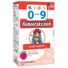 Homeocan Kids 0-9 Homeocoksinum Raspberry Flavor 25 mL | 778159602108