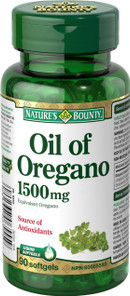 Nature's Bounty Oil of Oregano 1500 mg | 029537065559