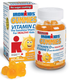 Ironkids Gummies Vitamin D 60 gummies | 683702100157