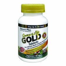 Nature's Plus Source Of Life Gold Multivitamin Tablets 90 ct | 097467307117