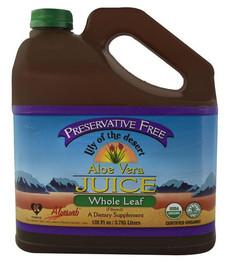 Lily of the Desert Preservative Free Whole Leaf Aloe Vera Juice | 026395841288