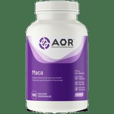 AOR Maca - 180 veg capsules | UPC: 624917042962
