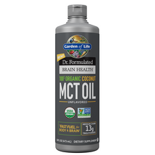 Garden of Life Dr. Formulated 100% Organic Coconut MCT Oil   886866000657