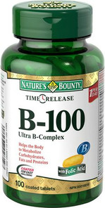 Nature's Bounty Time Release B-100 Ultra B Complex | 029537028127