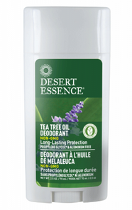 Desert Essence Deodorant Lavender Tea Tree Oil | 718334220673