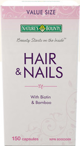 Nature's Bounty Hair and Nails | 029537161671
