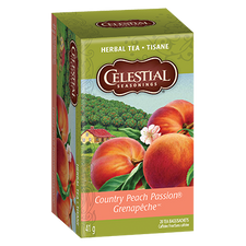 Celestial Seasonings Herbal Tea Country Peach Passion | 070734053245