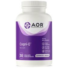 AOR Cogni-Q - 30 veg capsules | 624917042658