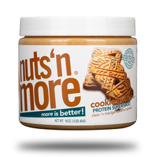 Nuts 'N More Cookie Butter Peanut Spread 454 grams | 709619628956