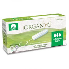 Organyc Super Tampons Without Applicator | 8016867009911
