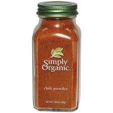 Simply Organic Chili Powder   089836192257