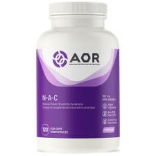 AOR N-A-C 500mg - 120 Veg capsules | 624917042856