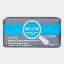 Decode Bamboo Charcoal Bar Soap Citrus Vetiver | 776629101533