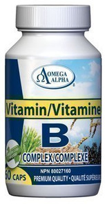 Omega Alpha Vitamin B-Complex   826913123502