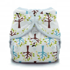 Thirsties Duo Wrap Snap Diaper Blackbird | 812087012216 | 812087012223