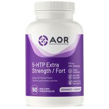 AOR 5-HTP Extra Strength 100mg 90 Vegi Caps | UPC: 624917043358 | SKU: AOR-1194-002