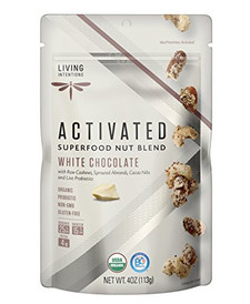 Living Intentions Activated Superfood Nut Blends White Chocolate | 813700020373