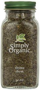 Simply Organic Thyme Leaf | 089836192318