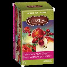 Celestial Seasonings Herbal Tea Cranberry Apple Zinger