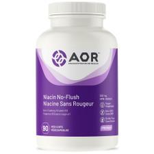 AOR Niacin No-Flush 550mg 90 Vegi Caps   624917040333