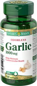 Nature's Bounty Odorless Garlic 1000 mg   029537123266
