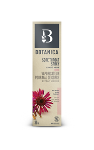Botanica Sore Throat Spray Liquid Herb 30mL | 822078920581