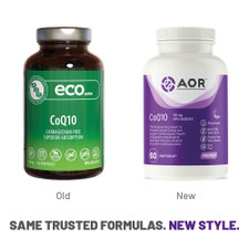 AOR-CoQ10-100mg -60-Veg Softgels | Before and after Image