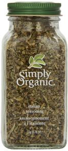 Simply Organic Italian Seasoning 22g | 089836192271
