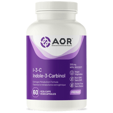 AOR I-3-C (Indole-3-Carbinol) 200mg 60 Vegi-Caps | 624917042504