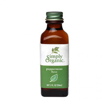 Simply Organic Peppermint Flavour   089836186225