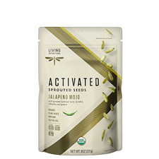 Living Intentions Activated Sprouted Seeds Jalapeno Mojo   813700020229