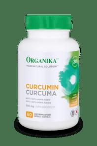 Organika Curcumin 500mg Anti-Inflammatory 60 VCAPS   620365011246