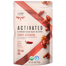 Living Intentions Activated Superfood Nut Blends Honey Sriracha | 813700020342