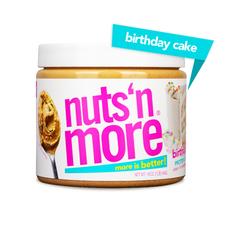 Nuts 'N More Birthday Cake Peanut Spread 454 grams | 767550469755