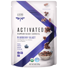 Living Intentions Activated Superfood Cereal Blueberry Blast | 813700020007