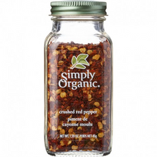 Simply Organic Crushed Red Pepper   089836192134