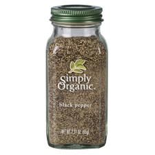 Simply Organic Black Pepper   089836192097