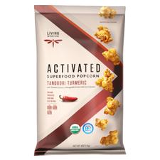 Living Intentions Activated Superfood Popcorn Tandoori Turmeric   813700020410