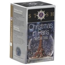Stash Tea Christmas in Paris Herbal Tea 18 Bags