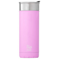 S'ip by S'well Stainless Steel Travel Mug Pink Punch   814666028854