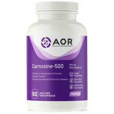 AOR Carnosine-500 60 veg capsules | 624917042634