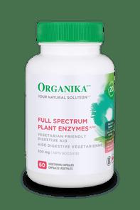 Organika Full Spectrum Plant Enzymes 500mg 60 VCAPS | 620365024109