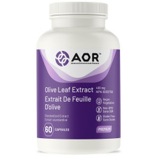 AOR Olive Leaf Extract 60 Veg Capsules | 624917043051