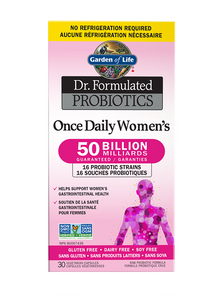 Garden of Life Dr. Formulated Probiotics Once Daily Women's 50 Billion Shelf Stable | 658010120241