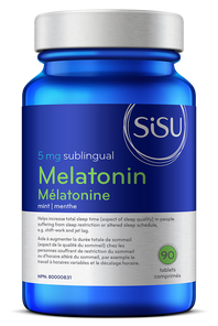 Sisu Melatonin 5mg 90 Sublingual Tablets | 777672025715
